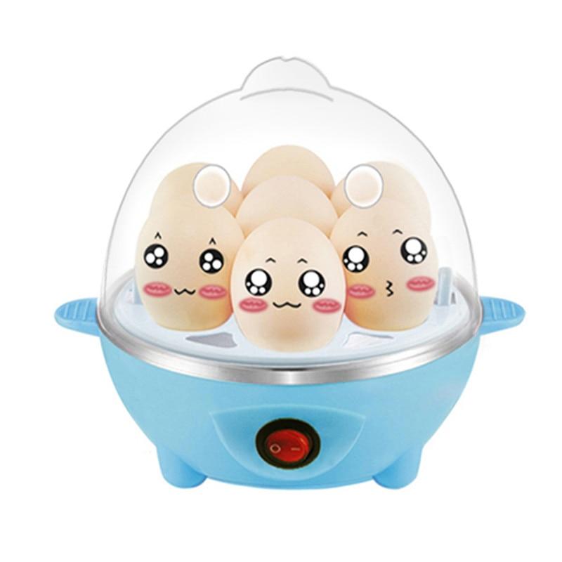 Многофункциональный Быстрый Электрический Яйцеваркой 7 Яйца Емкость Быстро Яйцеваркой Пароход Автоматического Отключения