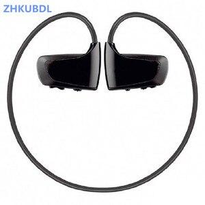 Image 5 - ZHKUBDL 새로운 스포츠 MP3 플레이어 8 기가 바이트 16 기가 바이트 W262 스테레오 헤드셋 MP3 HIFI 헤드폰 IPX2 내장 메모리