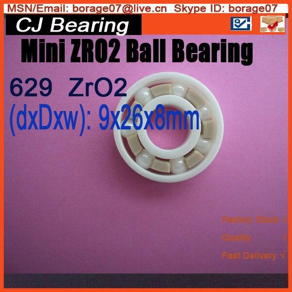629 zro2 full ceramic ball bearing 9x26x8mm ceramic wheel hub bearing zro2 15267 15 26 7mm 15267 full zro2 ceramic bearing