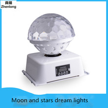 Video Equipment Stage Lights Crystal Magic Ball Led Stage Lamp DJ KTV Disco Laser Light Party Lights Sound Control Projector bluetooth crystal magic ball led stage lamp modes disco laser light party lights sound control christmas laser projector