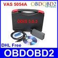 DHL Livre Versão 3.0.3 VAS 5054A ODIS Bluetooth VAS 5054 Um Ferramenta de Diagnóstico do carro Para A Seat VW Skoda Bentley VAS5054A Scanner VAG