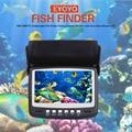 Eyoyo 15 M Buscador de Los Pescados 1000TVL 4.3 pulgadas de Pantalla de Peces Bajo El Agua buscador de La Pesca De La Cámara Con Visera LED Infrarrojo Caliente venta