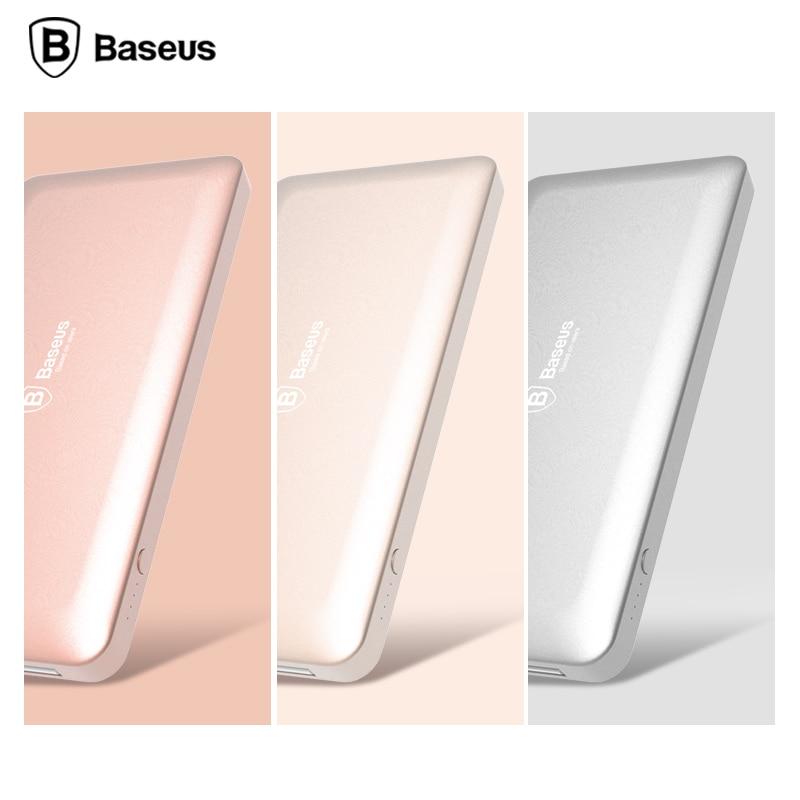 BASEUS 10000 mah Power Bank, 5V Max 2A output Ultra Slim Universal  Battery Powerbank