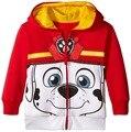 Riley Anderson Resorte de La Manera y jeckets Autaum niños de dibujos animados niños y niñas de algodón de lana chaqueta de abrigo niños abrigo con capucha informal