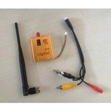 PARTOM 1.2 Г 8-КАНАЛЬНЫЙ 800 МВТ Беспроводная Камера Видео AV Аудио Передатчик TX для FPV OSD