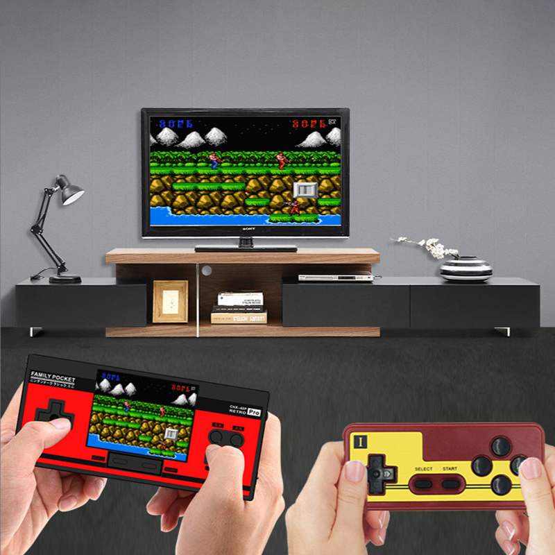 Image 5 - RS88 Family Pocket Game Console Retro Portable Mini Handheld Game Player Built in 348 Classic Games 3.0 Inch Color LCD For NES G-in Handheld Game Players from Consumer Electronics