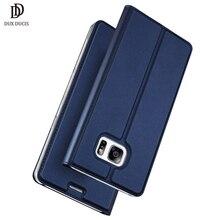 Dux DUCIS Роскошный кожаный бумажник чехол для Samsung Galaxy S7 чехол откидная крышка для Galaxy S7 G930F G930FD случае S7 Dual SIM Cover