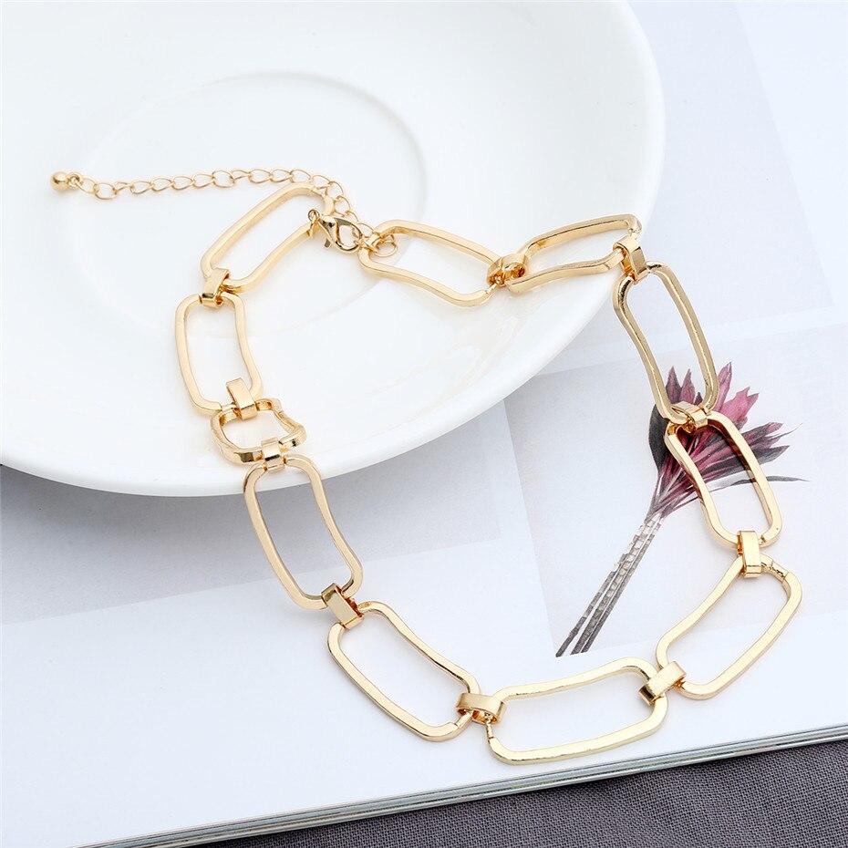 Ingemark Korean Sweet Love Heart Choker Necklace Statement Girlfriend Gift Cute Silver Color Necklace Jewelry Collier Femme 2018 7