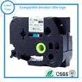 10PK дешевая цена совместимый P сенсорный HSe-251 23 6 мм белый HSe термоусадочная лента картридж для идентификации кабеля