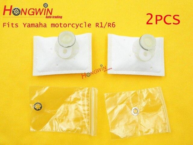 2 piezas de filtro de la bomba de combustible filtro de la motocicleta de Yamaha R1/de la motocicleta de Yamaha R6/FZ8 envío gratis