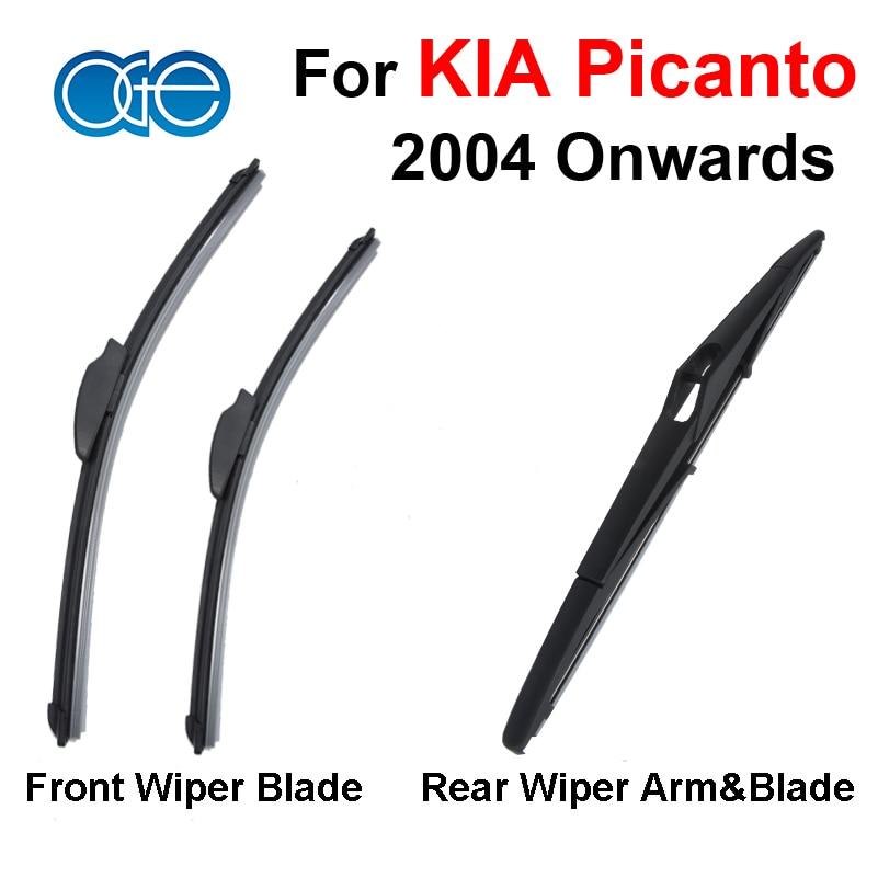 Prix pour Oge avant et arrière lames d'essuie-glace pour kia picanto 2004 partir pare-brise essuie-glaces de voiture auto accessoires