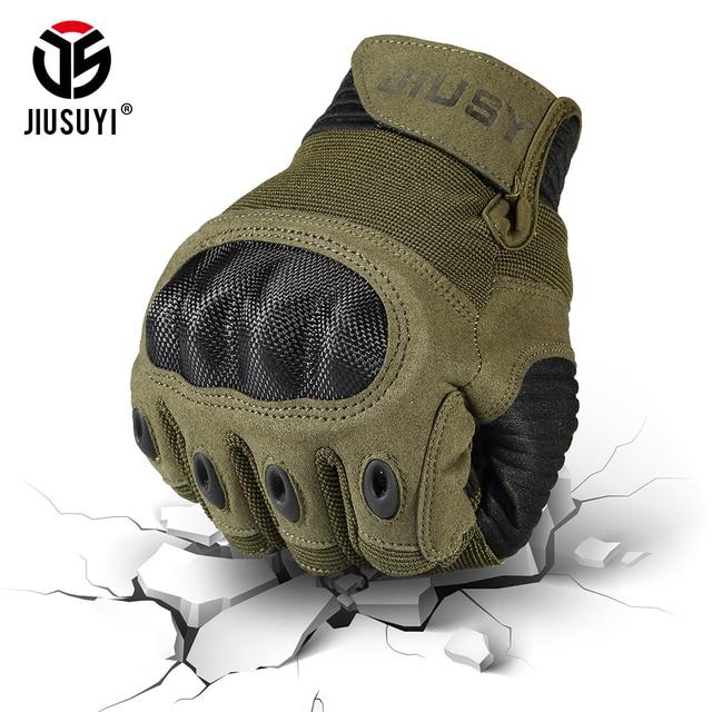 Écran tactile Gants Tactiques Militaires de Larmée Paintball Tir Airsoft Combat Anti-Dérapage Dur Knuckle Complet Doigt Gants Hommes Femmes