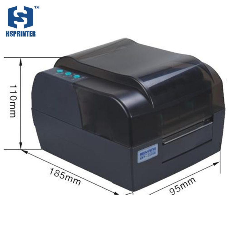 thermal Barcode label name sticker Printer with 300DPI for shipping labels and supermarket price Barcode 58mm label barcode printer with direct thermal label and adhesive sticker pritner usb gp2120t for coffee store