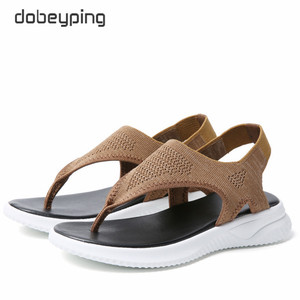 Image 3 - แฟชั่นตาข่ายผู้หญิงรองเท้าแตะรองเท้าแตะผู้หญิงรองเท้าผู้หญิงฤดูร้อน Cool Beach แฟลตหญิงขนาดใหญ่ขนาด 35 45