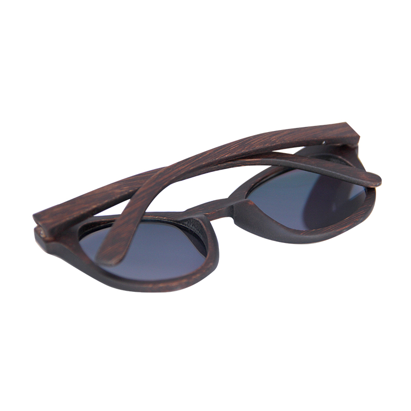 Vintage dyeing frame Polarized Bamboo Wood sunglasses men womens sun glasses Wooden Case Beach Anti UV eyeglasses for Driving in Women 39 s Sunglasses from Apparel Accessories