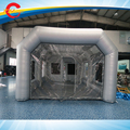 8*5*3mH  free air shipping to door,silver  inflatable  car spray paint booth tent