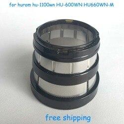 Exprimidor lenta hurom licuadora espaà a bien filtro pequeño agujero para hurom hu-1100wn HU-600WN HU660WN-M licuadora piezas de repuesto
