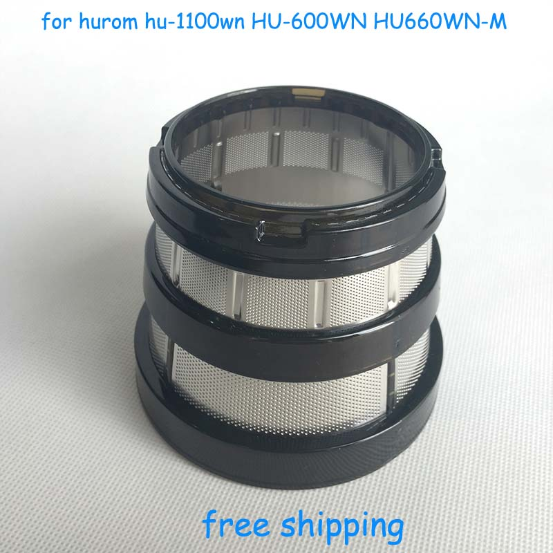 Slow Juicer Spare Parts : Sale slow juicer hurom blender spare parts,fine filter small hole,for hurom hu-1100wn HU-600WN ...