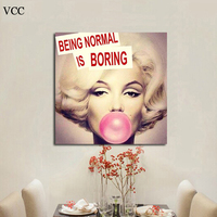Free Shipping 2014 Canvas Painting Wall Pictures Wall Art Boring Canvas Art Home Decor Modern Huge