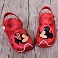 2017 Mickey & Minnie Children'S Sandals Slippers 2016 Summer Boys Girls Sandals Children Hole Shoes Slip Sandals Beach Sandals
