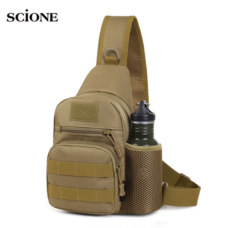 Molle Tactical Chest Bag Military Shoulder Sling Outdoor Bags Mountaineering Travel Camping Hunting Hiking Fishing Bolsa XA435WA outlife new style professional military tactical multifunction shovel outdoor camping survival folding spade tool equipment
