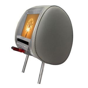 Image 3 - 7 inch TFT LED Screen Video Player Universal Car Headrest Monitor Beige/Gray/Black  AV USB SD MP5 FM Built in Speaker SH7038 MP5