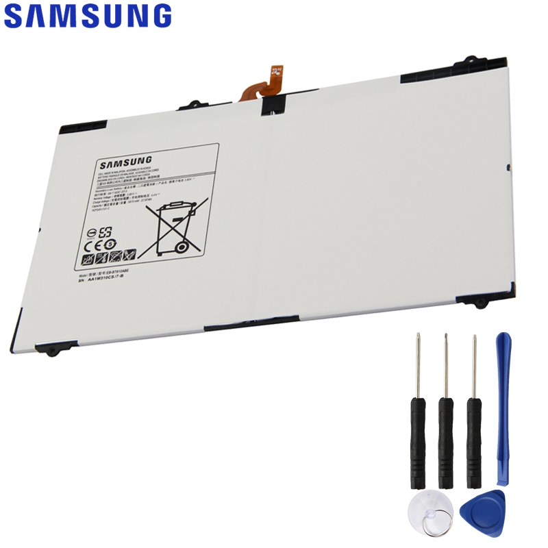 Original Replacement Samsung Battery For Galaxy Tab S2 9.7 T815C S2 T813 T815 T819C SM-T815 SM-T810 SM-T817A EB-BT810ABE 5870mAOriginal Replacement Samsung Battery For Galaxy Tab S2 9.7 T815C S2 T813 T815 T819C SM-T815 SM-T810 SM-T817A EB-BT810ABE 5870mA