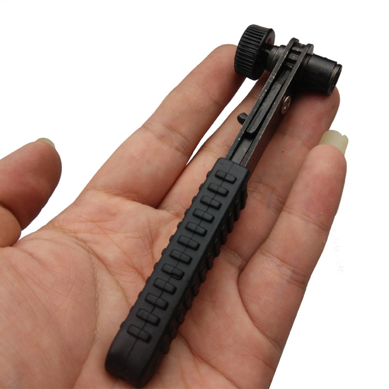 daugiafunkcinis lankstus mini reketu atsuktuvų rinkinys, lankstus, - Rankiniai įrankiai - Nuotrauka 2