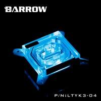 Barrow CPU Cooling Block Use For Intel Socket LGA1150 1151 1155 1156 Acrylic 0 4MM Microchannels