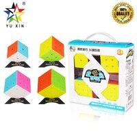2019 YUXIN Speed Cube Set 2x2x2 3x3x3 4x4x4 5x5x5 Puzzle Cube Puzzle Professional 4pcs Toys Educational Fidget Toys Cubo Magico