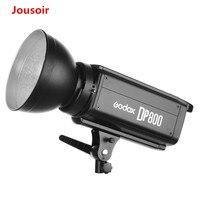 Бесплатная DHL Godox DP800 800Ws GN88 Pro фотографии освещения мерцающий студийная лампа импульсного и постоянного света головы CD50