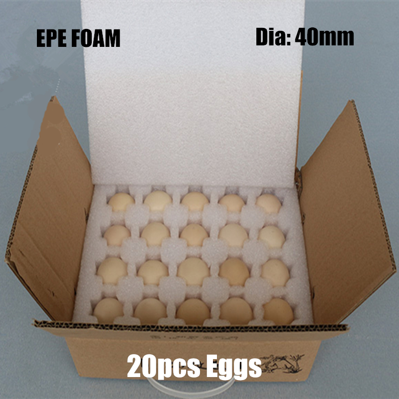 270*210*80mm EPE Foam For 20 Eggs Diameter 40mm Packaging Materials Buffer Packing Foam Sheet Polyethylene Imballaggio Gift Bag