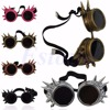 Cosplay Vintage Victorian Rivet Steampunk Goggles Glasses Welding Cyber Gothic New hot sell review