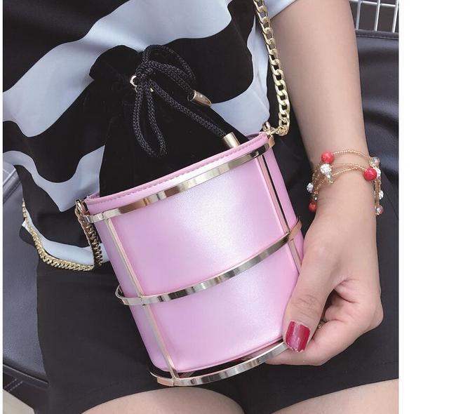 2016 New design fashion clutch evening bag party dinner bags chian women evening package bottle bow style bag Bolsa mujerXA136B