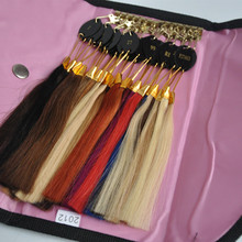 100% Real Remy Human Hair Color Ring for Hair Human Extension Hair Chat Perfect Packaging