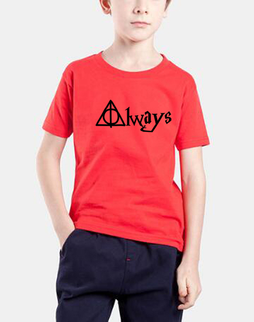 2018 new fashion summer t shirts kids streetwear tops alwas letter print brand clothing baby girl clothes children shirts homme