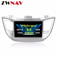 10.22 din Car radio for Hyundai Tucson 2014 2015 2016 2017 Octa core Android 8.0 car dvd gps player with 32GB ROM 4GB RAM
