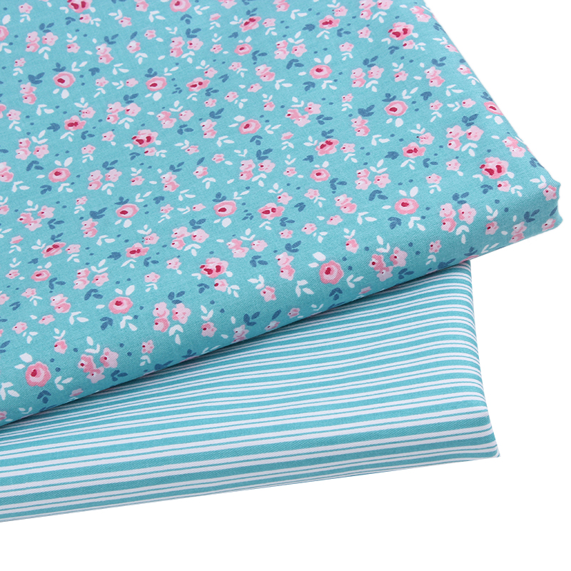 New arrival 2pic lot 40 50cm cotton fabric tecidos fabric patchwork sewing ba - Lot de tissu patchwork ...