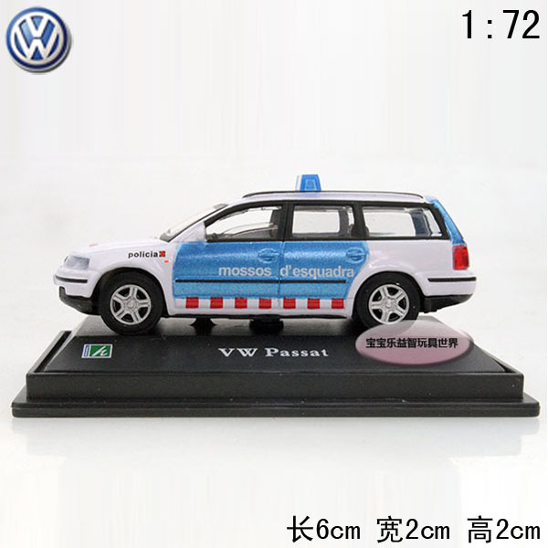 1:72 Conway Volkswagen passat blue pocket-size baby alloy car model free air mail