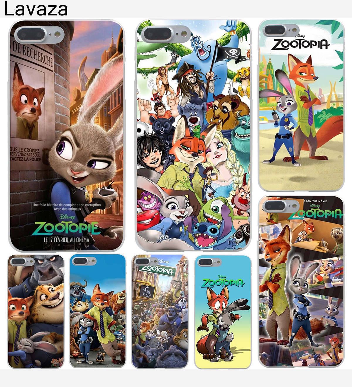 Lavaza Despicable Zootopia Hard Phone Case For Apple Iphone X 10 Dus 6 Plus Fullset Acc 7 6s 8 5 5s Se 5c 4 4s Coque Shell Cover