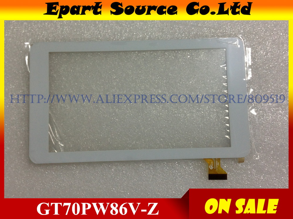 A+ 7inch touch screen 100% New touch panel Tablet PC touch panel digitizer GT70PW86V-Z 186x104mm