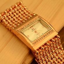 SOXY Women Fashion Bracelet Watches Rose