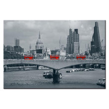 Street view series poster Wall Art Oil Painting On Canvas Printed Painting Pictures Decor painting large living room Wholesale(China)