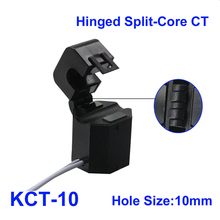 цена на New Update for KCT-10 Hinged Split core current transformer  10PCS single phase Clamp on CT high accuracy with smart grid