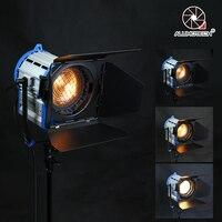 ALUMOTECH Pro As ARRI 1000W Tungsten Spot light + Dimmer Built in+ Globes Lighting For Studio Video Film Photography Lamp