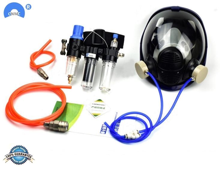 Химическая маска, противогаз, кислота, пыль, респиратор, краска, пестициды, спрей, Силиконовый Фильтр, лабораторный картридж, сварка
