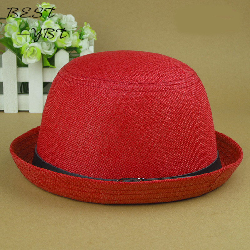 e3344dd900c The new breathable sun hat lady hat Korean version of the trend of small round  cap hat rummaged summer hats for women.