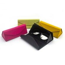 Cute PU Leather Eyewear Sunglasses Box Bag Lunette De Soleil Sunglass Case Hard Eye Glass Eyeglass For Glasses Brand