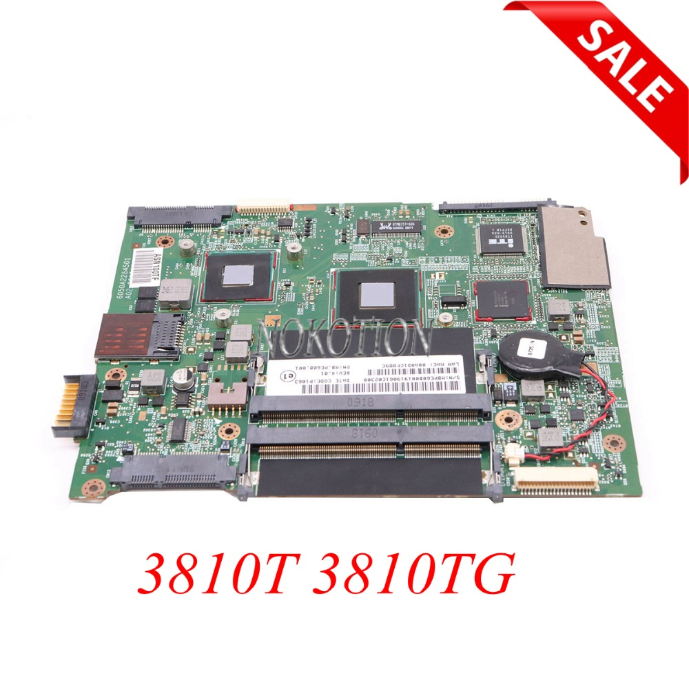 все цены на NOKOTION MBPE60B001 MB.PE60B.001 laptop motherboard For acer aspire 3810T 3810TG 6050A2264501 Main board Full tested онлайн
