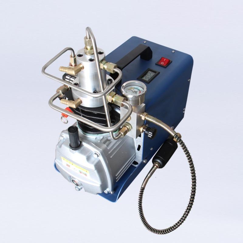 US $327 27 40% OFF Acecare 300BAR 4500PSI High Pressure Air Pump Electric  Air Compressor for Pneumatic Airgun Scuba Rifle PCP Inflator 220v 110v-in
